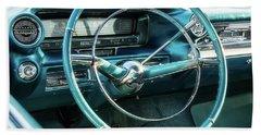 1959 Cadillac Sedan Deville Series 62 Dashboard Bath Towel