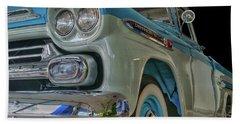 1959 Chevrolet Apache Bath Towel