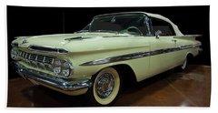 1959 Chevy Impala Convertible Bath Towel