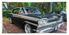 1959 Ford Galaxy C113 Hand Towel