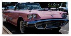 1959 Ford Thunderbird Convertible Bath Towel