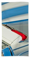 Bath Towel featuring the photograph 1960 Cadillac Eldorado Biarritz Convertible Taillight by Jill Reger