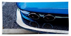 Hand Towel featuring the photograph 1965 Corvette Sting Ray by M G Whittingham