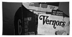 1960's Vernors Pop Box  Bath Towel