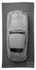 1961 Porsche 356 B Coupe Bath Towel