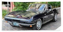 1963 Corvette Split Window Coupe Bath Towel