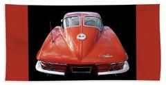 1963 Corvette Stingray Split Window Rear Hand Towel