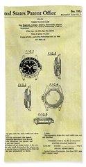 1963 Rolex Watch Patent Hand Towel