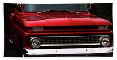 Hand Towel featuring the photograph 1964 Chevrolet Pick Up by Baggieoldboy