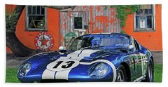 Bath Towel featuring the photograph 1964 Cobra Daytona Coupe by Christopher McKenzie