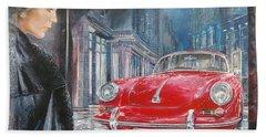 1964 Porsche 356 Coupe Hand Towel
