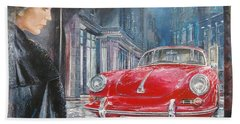 1964 Porsche 356 Coupe Hand Towel
