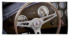 1965 Ac Cobra Steering Wheel Emblem -1216ac Bath Towel