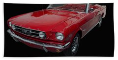 1966 Ford Mustang Convertible Bath Towel