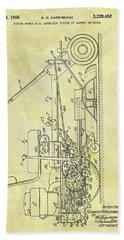 1966 Riding Mower Patent Hand Towel