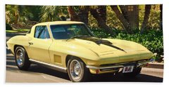 1967 Chevrolet Corvette Sport Coupe Bath Towel