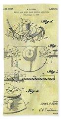 1967 Lawn Mower Patent Hand Towel