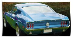1967 Mustang Bath Towel