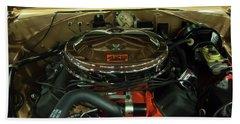 1967 Plymouth Belvedere Gtx 426 Hemi Motor Hand Towel