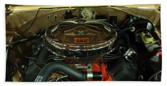 1967 Plymouth Belvedere Gtx 426 Hemi Motor Bath Towel