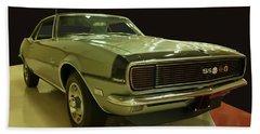 1968 Chevy Camaro Rs-ss Bath Towel