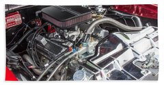 1968 Pontiac Gto Motor Hand Towel