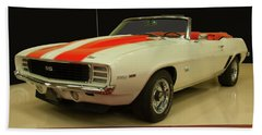 1969 Chevy Camaro Rs/ss Indy Pace Car Bath Towel