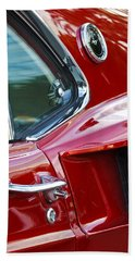 1969 Ford Mustang Mach 1 Side Scoop Hand Towel by Jill Reger
