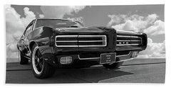 1969 Pontiac Gto The Goat Bath Towel