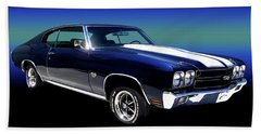1970 Chevelle Ss Hand Towel