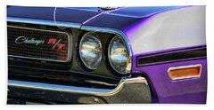 1970 Dodge Challenger Rt 440 Magnum Bath Towel