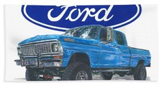 1970 Ford F-250 Crew Cab Hand Towel