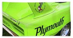 1970 Plymouth Superbird Hand Towel by Gordon Dean II