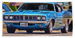 1971 Plymouth 'cuda 383 Hand Towel
