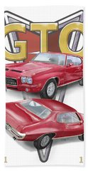 1971 Pontiac Gto Hand Towel by Thomas J Herring