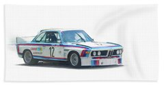 1973 Bmw Csl 3.0 Batmobile Hand Towel