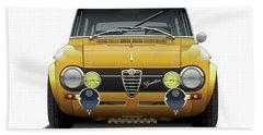 1974 Alfa Romeo Giulia Bath Towel