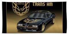 1977 Pontiac Trans Am Bandit Bath Towel