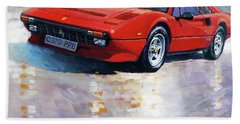 1982-1985 Ferrari 308 Gts Hand Towel