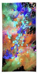 Bath Towel featuring the painting 1983.032914invert by Kris Haas