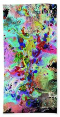 Bath Towel featuring the painting 1984.032914invertx2 by Kris Haas