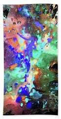 Bath Towel featuring the painting 1984.032914invert by Kris Haas