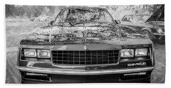 1987 Chevrolet Monte Carlo Ss Coupe Bw C122  Bath Towel
