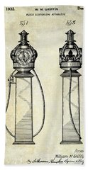 1932 Gas Pump Patent  Hand Towel