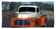 1952 Chevrolet Pickup Truck Bath Towel