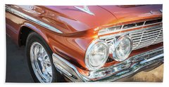Bath Towel featuring the photograph 1961 Chevrolet Impala Ss  by Rich Franco