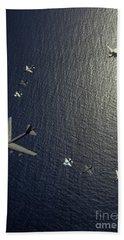 A U.s. Air Force B-52 Stratofortress Hand Towel
