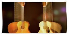 Acoustic Overtone Hand Towel by Leland D Howard