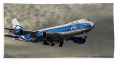 Air Bridge Cargo Airlines Boeing 747-8hv Hand Towel