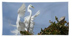 Angel Wings Hand Towel